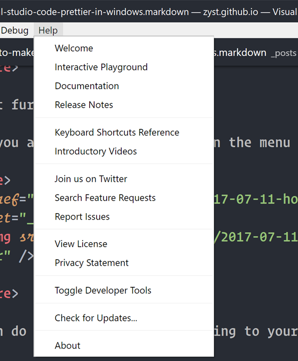 How to make Visual Studio Code prettier in Windows 10