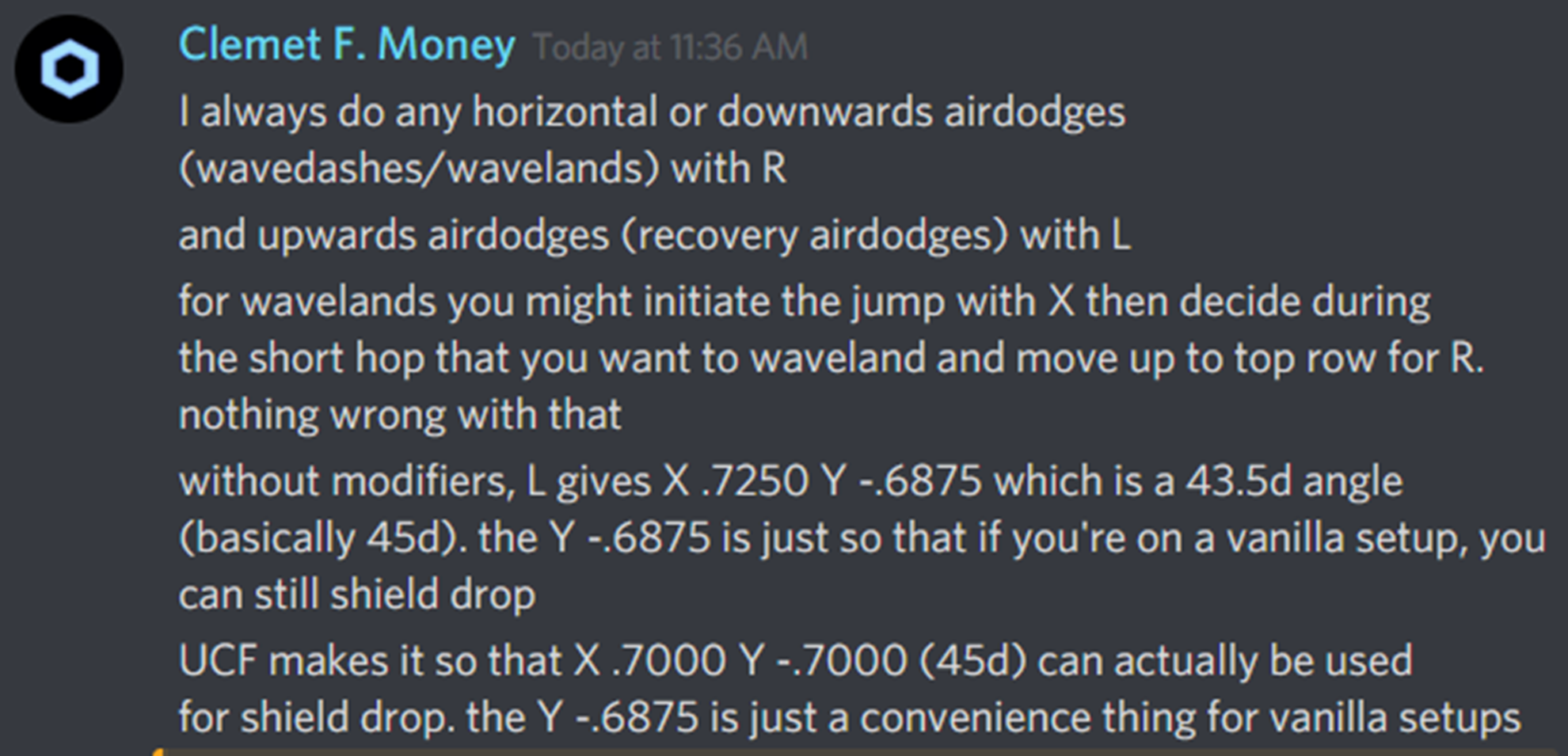 Hax expanding on why he lands with R